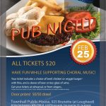 Pub Night - Feb 25th